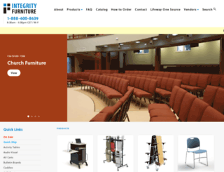 integrityfurniture.com screenshot