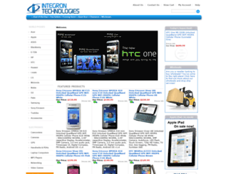 integrontech.com screenshot