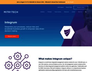 integrumsystems.com screenshot