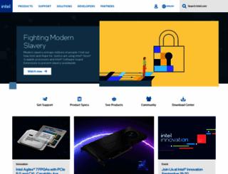 intel.com.tr screenshot