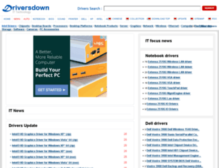 intel.driversdown.com screenshot