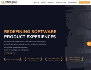 intelgain.com screenshot