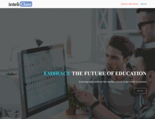 inteliclass.com screenshot
