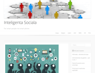 inteligenta-sociala.ro screenshot