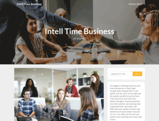 intell-time.co.uk screenshot