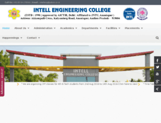 intellengg.ac.in screenshot