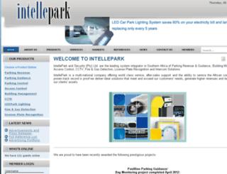intellepark.co.za screenshot