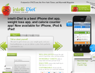 intelli-diet.com screenshot