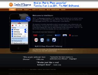 intelliborn.com screenshot