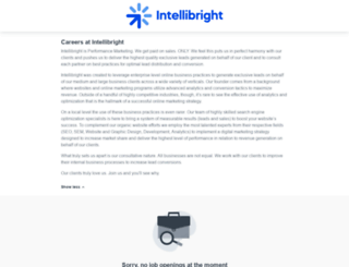 intellibright.workable.com screenshot