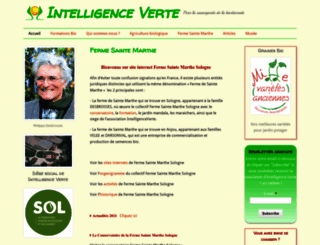 intelligenceverte.org screenshot