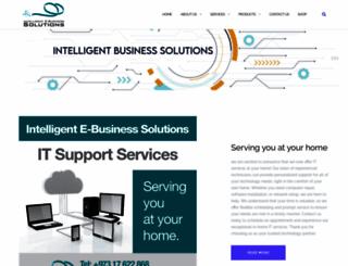 intelligent-ebusiness.com screenshot