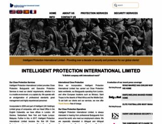 intelligent-protection.co.uk screenshot