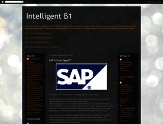 intelligentinformationsystems.blogspot.com screenshot