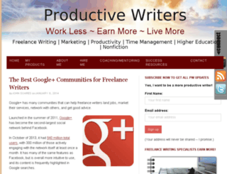 intelligentproductivity.com screenshot