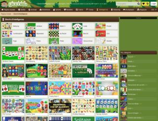 intelligenza.giochixl.it screenshot