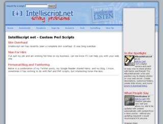 intelliscript.net screenshot