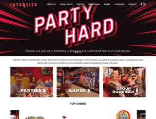 intencity.com.au screenshot