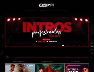 intensamusic.com screenshot