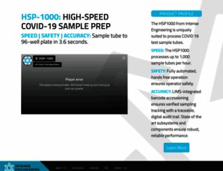 intense-engineering.com screenshot