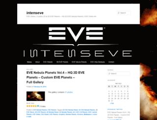 intenseve.wordpress.com screenshot