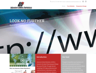 intensiveonlinemarketers.com screenshot