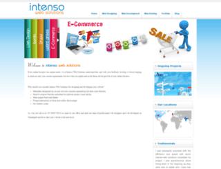 intensowebsolutions.com screenshot