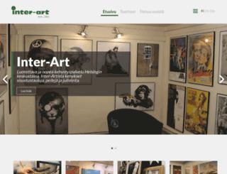 inter-art.fi screenshot
