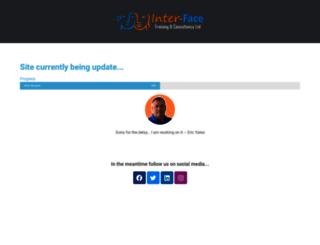 inter-face.co.uk screenshot