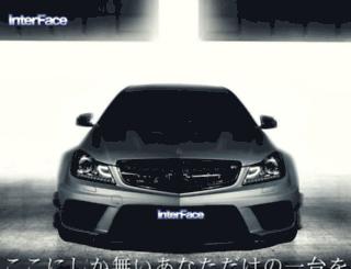 inter-face.jp screenshot