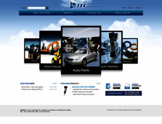 inter-trade.co.kr screenshot
