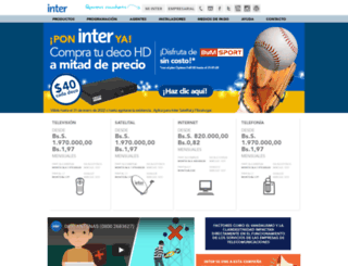inter.net.ve screenshot