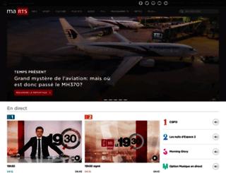 interactif.rts.ch screenshot