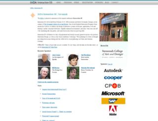 interaction08.ixda.org screenshot