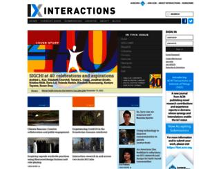 interactions.acm.org screenshot