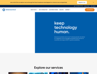 interactive.com.au screenshot