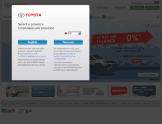 interactive.toyota.ca screenshot