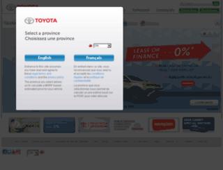 interactive.toyota.ca screenshot
