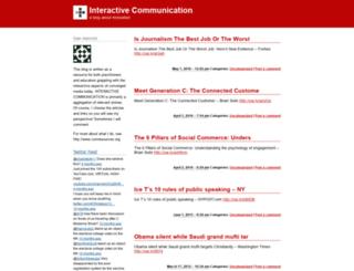 interactiveconf.wordpress.com screenshot