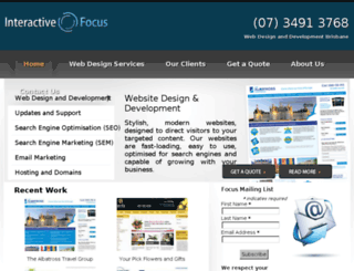 interactivefocus.com.au screenshot