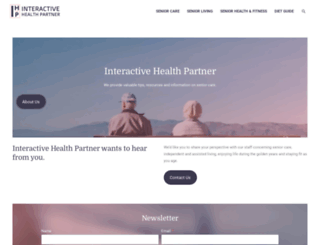 interactivehealthpartner.com screenshot