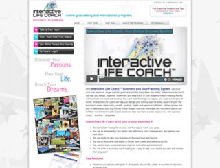 interactivelifecoach.com screenshot