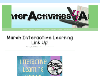 interactivities4all.com screenshot