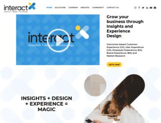 interactrdt.com screenshot