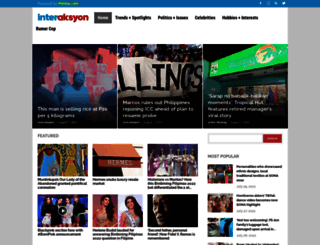 interaksyon.com screenshot
