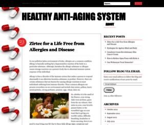 interationalantiagingsystems.wordpress.com screenshot