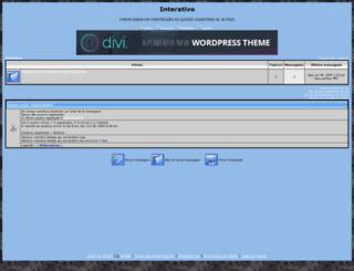 interativo.forumeiros.net screenshot