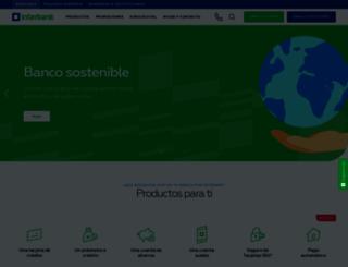 interbank.com.pe screenshot
