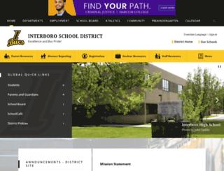 interborosd.org screenshot