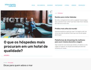 intercambiocultural.com.br screenshot